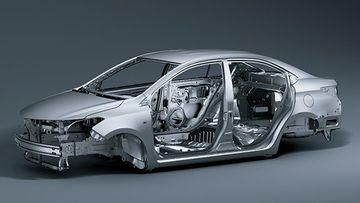 Khung xe GOA của Toyota Vios