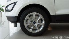 La-zăng sơn bạc, kích thước 16 inch, thiết kết đa chấu trên Ford EcoSport