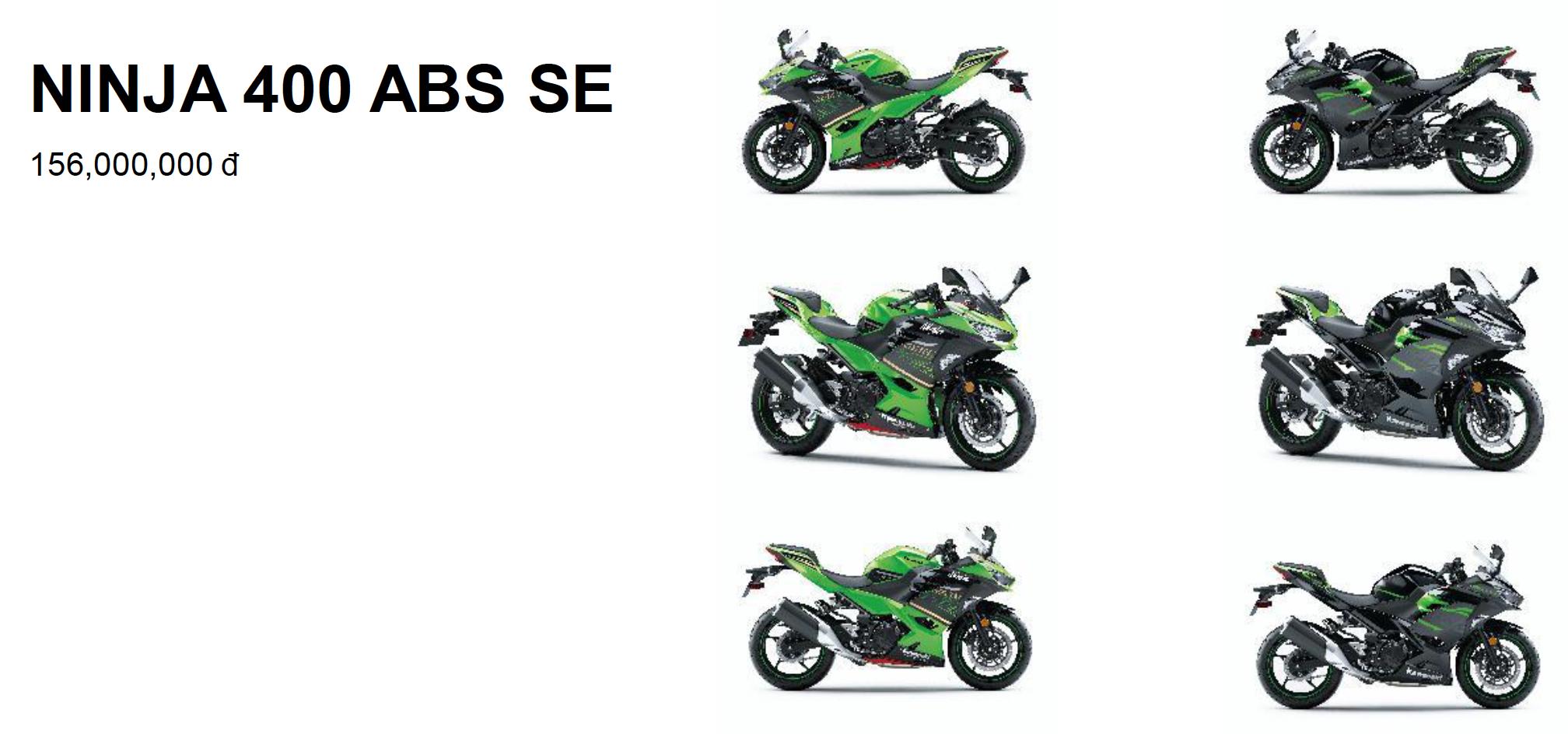Kawasaki Việt Nam công bố bảng giá các dòng xe trong năm 2020