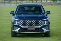 Ca lăng trên Hyundai Santa Fe 2021 mở rộng hơn bản cũ