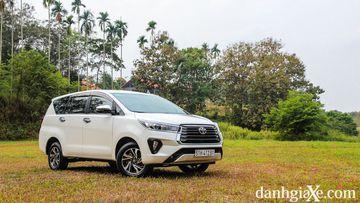 Đánh giá chi tiết xe Toyota Innova G 2021