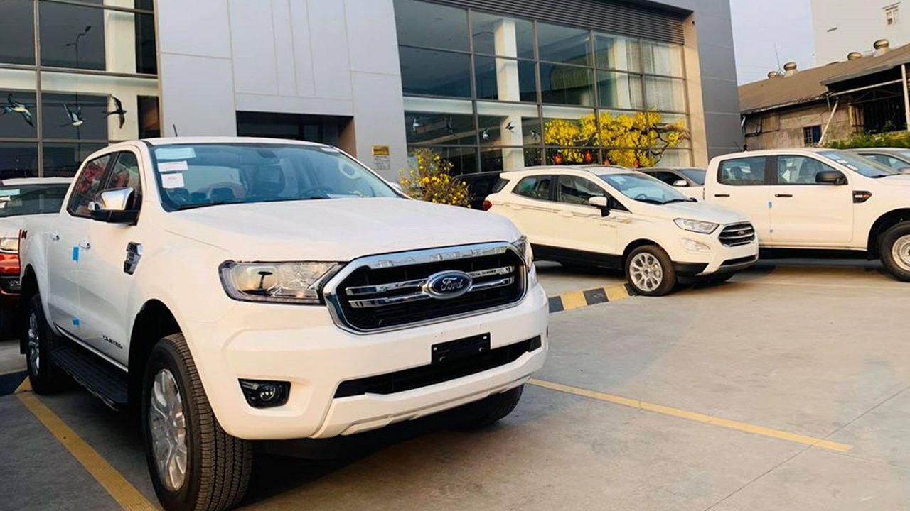 Cận Cảnh Ford Ranger Limited 2020 Gia 800 Triệu đồng Tại Việt Nam