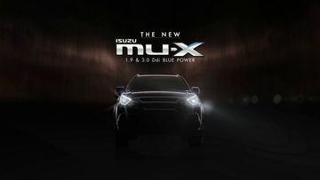 Isuzu MU-X 2017 sắp ra mắt tự tin cạnh tranh năm 2017