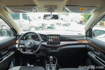 Khoang lái của Suzuki Ertiga 2021 mới mẻ, bắt mắt hơn bản tiền nhiệm