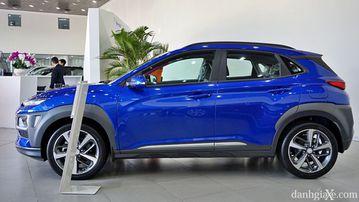 Hyundai Kona 2021 có thiết kế nam tính, thể thao