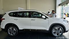 Thân xe Hyundai Santa Fe 2021