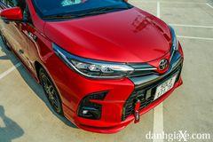Cụm đèn pha LED trên Toyota Vios GT-S mang đến diện mạohiện đại