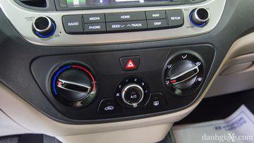 Điều hòa chỉnh cơ trên Hyundai Accent 1.4MT 2018