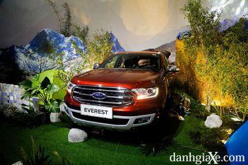 Ford Everest 2018 sử dụng hộp số tự động 10 cấp mới